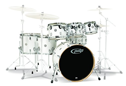 PDP By DW 7-Piece Concept Maple Shell Pack with Chrome Ha...