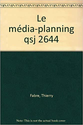 Le media-planning epub pdf