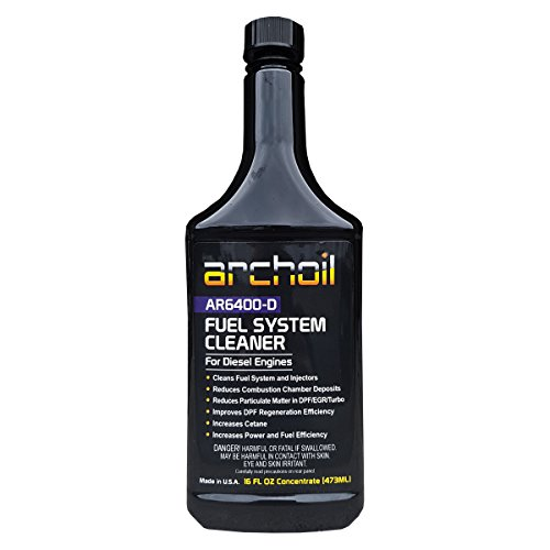 Archoil AR6400-D (16oz) Professional Diesel Fuel System and Engine Cleaner (Treats 25 Gallons of Diesel) (Archoil Inc)