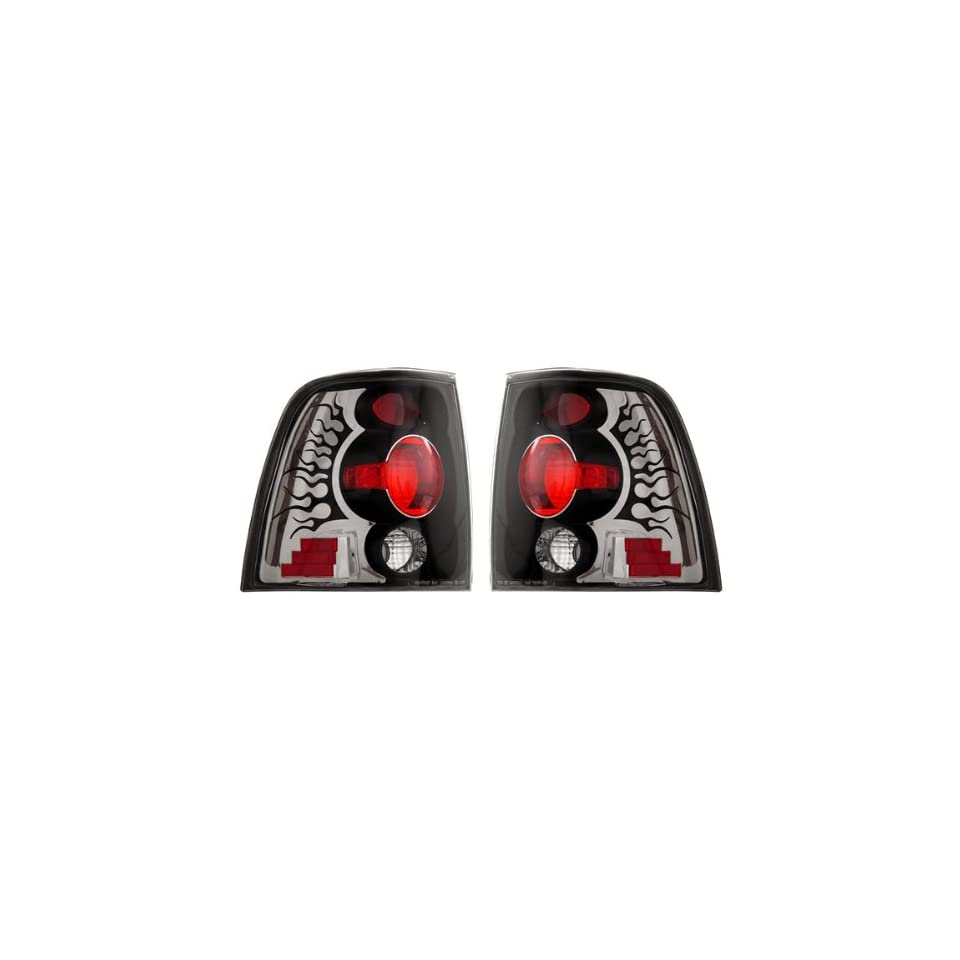 Ford Expedition Black Tail Lights   Fits Eddie Bauer Sport Utility 4 Door