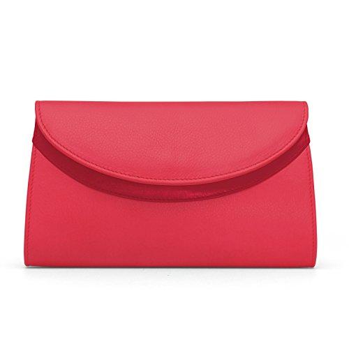 Gretchen, Poschette giorno donna Rosso Rosso - Lipstick red