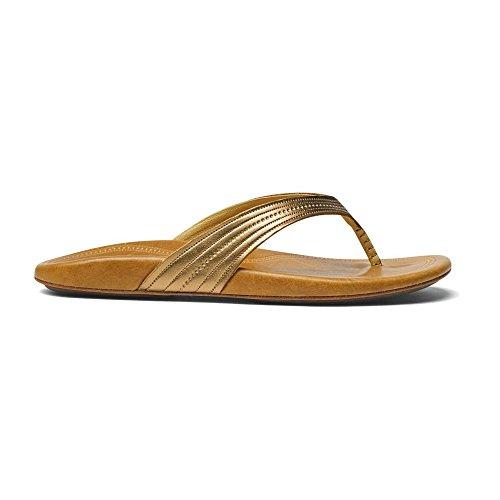 Olukai Wana sandalia–mujer Bronze/Sahara