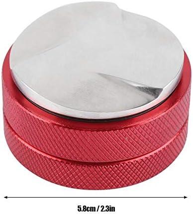 Distributeur Speciale TRE Scarlet espresso pour Barista ; pour une extraction parfaite avec machine /à tamis ; diff/érentes tailles ; mod/èle lourd 47 mm Noir