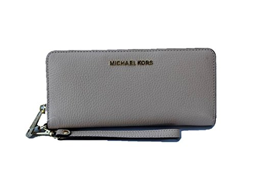 Michael Kors Jet Set Travel Continental Leather Wallet/Wristlet - Ballet by Michael Kors