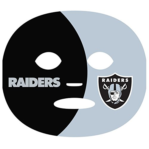 NFL Oakland Raiders Game Day Face Tattoo (4 Set), One Size]()