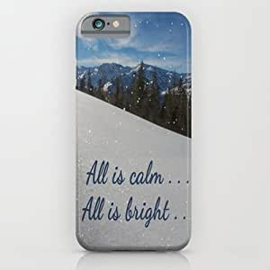 Society6 - All Is Calm . . . All Is Bright . . . iPhone 6 Case by Pat71896