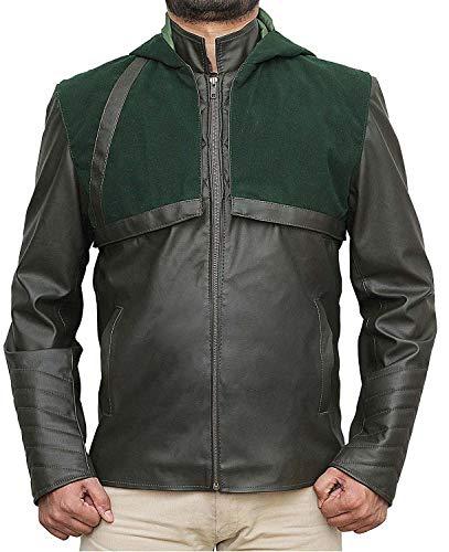 Halloween Costume for Men Green Arrow Jacket | Green Arrow, L -