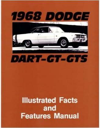 1969 DODGE CORONET Facts Features Sales Brochure Book