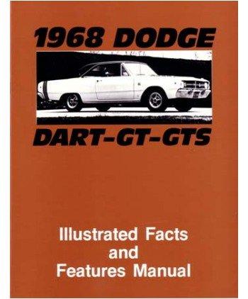 1968 DODGE DART Facts Features Sales Brochure Book