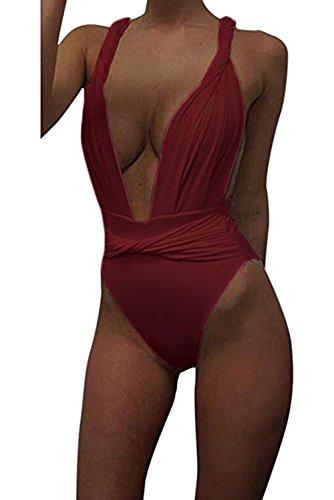 KORSIS Womens Halter Swimsuit Swimwear