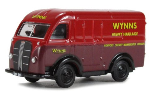Austin 3 Way Van - Wynns Heavy Haulage - 1/76th Scale Oxford Diecast