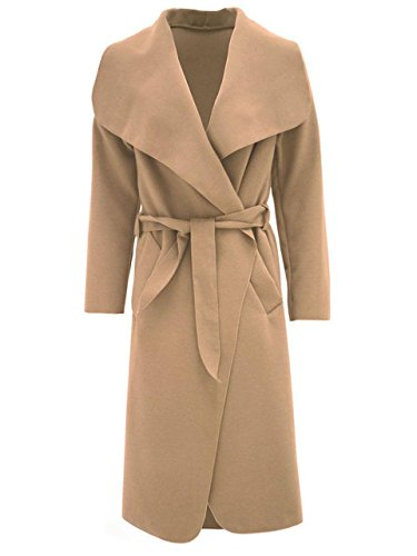 Generic Manteau Unique Femme Camel Multicoloured Taille multicolore Trench 6aTwHPq64