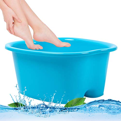 Foot Bath Spa, Large Size for Soaking Feet | Pedicure and Massager Tub for At Home Spa Treatment | Relax and Add Hot Water, Epsom Salts, Essential Oils