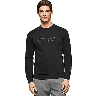 Calvin Klein Performance Classic Fit Logo Crewneck Fleece