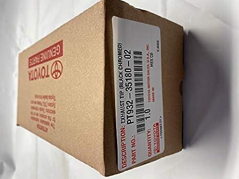 Genuine Toyota Parts PT932-35180-02 Taco Exhst Tip Blk
