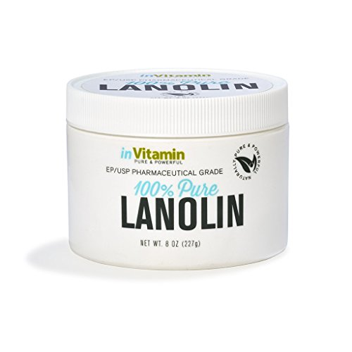Lanolin Natural (Face & Body Moisturizer for Dry Skin, Lanolin Moisturizing Cream Lotion (8 oz))
