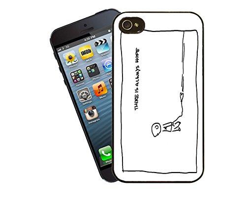 Citations et mots inspirants 017Étui pour téléphone portable–Ce modèle compatible avec Apple iPhone 5/5S (pas 5C)–by Eclipse idées cadeau