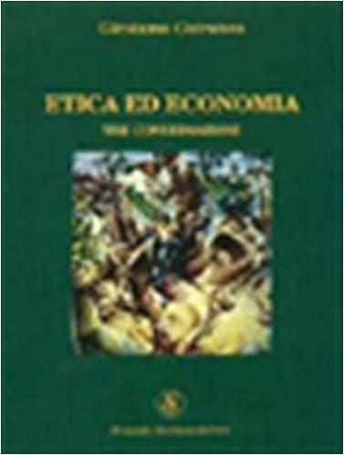 Book Etica ed economia. Tre conversazioni