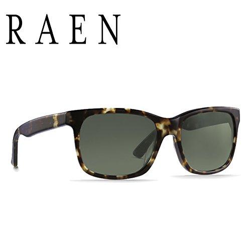 RAEN Optics レーン サングラス WESTON - BRINDLE TORTOISE GREEN 正規代理店 WST-017-GRN   B01N022XZO