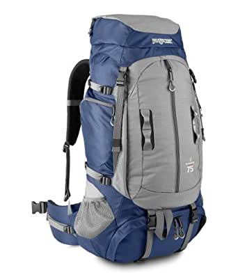 JanSport Klamath 75 Adventure Series Multi-Purpose Backpack with GridFit (Navy)