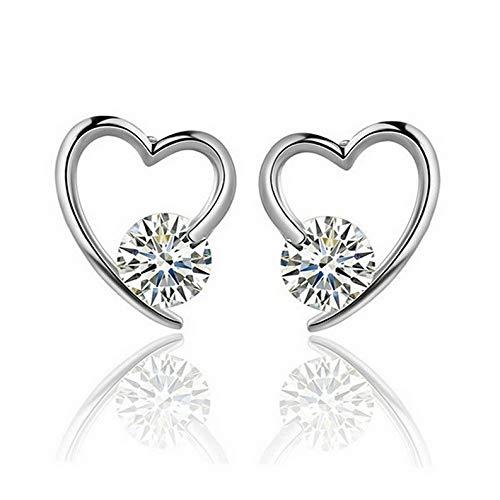 Crookston Elegant Fashion Women Lady Rhinestone Crystal Flower Ear Stud Earrings Jewelry | Model ERRNGS - 1742 |