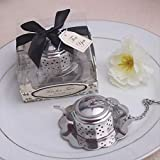 Stainless Steel Teapot Tea Infuser Tea Strainer Filters For Wedding Favor (96)