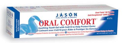 Jason Dent Oral Gel confort apaisant, 4,2 once