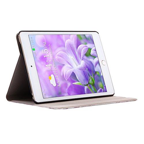Case iPad Mini 4, iPad Mini 4 Tablet Flip Case Cover con Auto-Sueño / Estela Función, iPad Mini 4 Fundas, iPad Mini 4 Bolsas, Moon mood® Tableta Funda para Apple iPad Mini 4 7.9 pulgadas PU Cuero Duro Auto-mármol