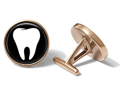 Dentist Cufflinks (Solid Bronze)