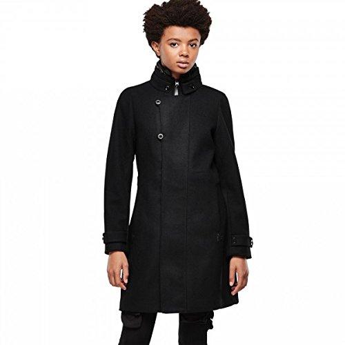 G-STAR RAW Minor Wool Slim Coat wmn, Abrigo para Mujer, Negro (Black 990), 44: Amazon.es: Ropa y accesorios
