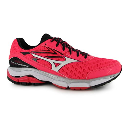 Pnk Sneakers Mizuno Womens Wave Running Inspire Bk Shoes Sports Trainers Shoe 12 nYUSqUzw