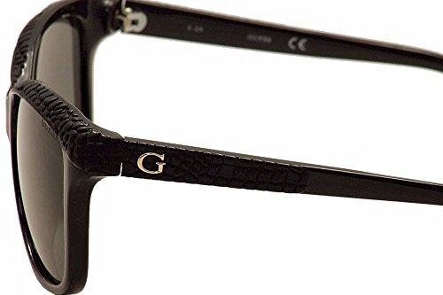 Guess Sonnenbrille (GU7401) schwarz glanz