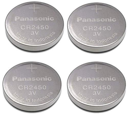 - Panasonic Cr2450 Cr 2450 Lithium 3v Battery [ Pack of 4 ]
