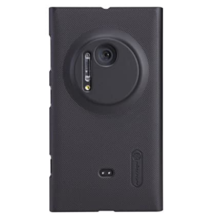 outlet store f2c99 0ce5a Nillkin Super Frosted Shield Hard Back Cover Case for Nokia Lumia 1020 -  Black