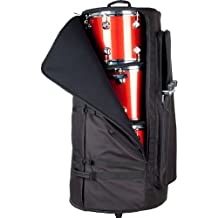 Protec Deluxe Multi-Tom Bag with Wheels