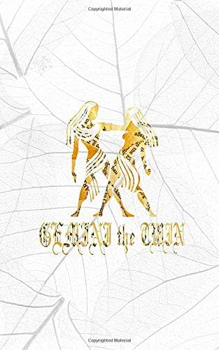 GEMINI THE TWIN: 5x8 lined journal diary notebook : Happy Birthday May 21 to June 21