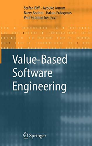 Value-Based Software Engineering (Tapa Dura)