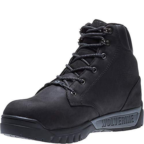 Wolverine Men's Mauler LX Composite Toe Waterproof Work Boot Black 11.5 M US by Wolverine (Image #5)