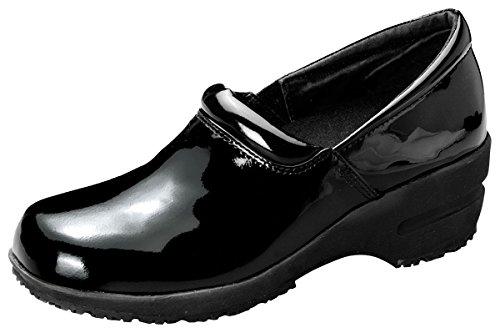ricia Step In Shoe, Black Patent, 10 M US (Care Patent Leather Shoes)