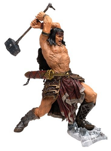 Mcfarlane Conan Series 1 Action Figure - Conan The Indomitable by Unknown Barbarian Action Figure Series