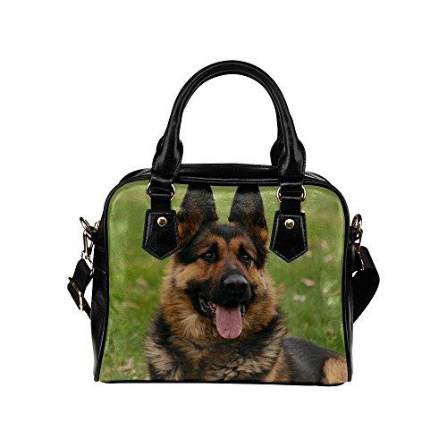 BigBeewd Custom Women's Handbag Shoulder Bag PU leather-German Shepherd Dog
