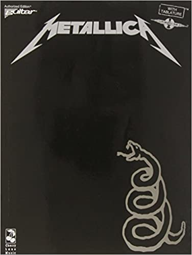 Metallica Black Album Tab For Guitar Amazon Metallica Books