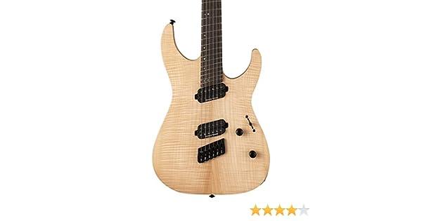 ESP LTD M-1000 - Guitarra eléctrica multiescala (raso natural): Amazon.es: Instrumentos musicales