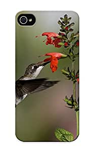 Dionnecortez Iphone 5/5s Well-designed Hard Case Cover Animal Hummingbird Protector For New Year's Gift