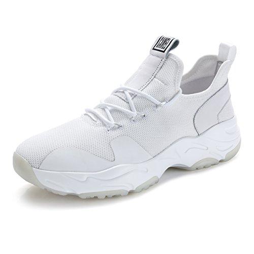 抽選鉱夫フリースCAMEL CROWN ランニングシューズ メンズ スニーカー メッシュ 軽量 ジョギングシューズ 運動靴 通気 靴 スポーツ 全2色 白 黒
