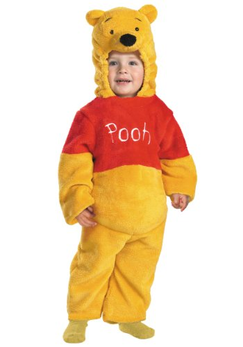 POOH DELUXE PLUSH 3T-4T (Winnie The Pooh And Tigger Halloween Costumes)