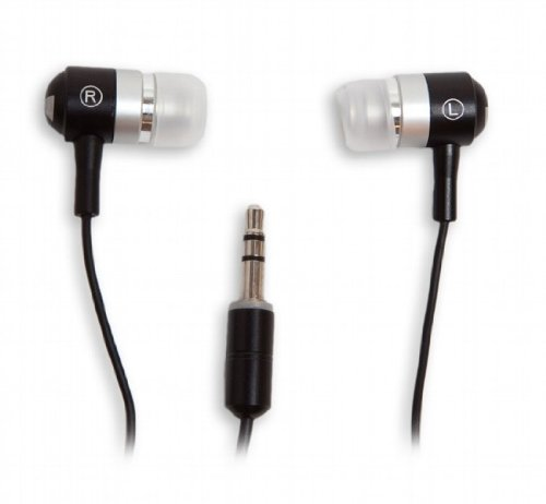 Ifrogz Metal - Ifrogz Earpollution Metal Drum Earbuds (Black/Silver)