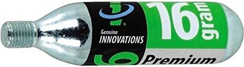 Innovations Genuine G2153 Threaded CO2 Cartridge 16 Gram 24-Pack