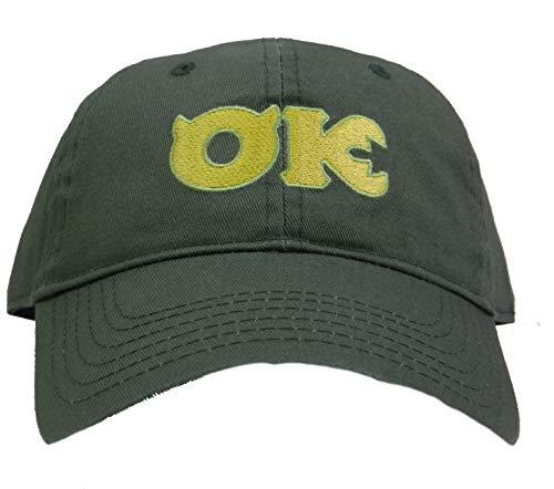 Disney Pixar Monsters University Inc Ozma Kappa Adjustable Baseball Cap Hat Green]()