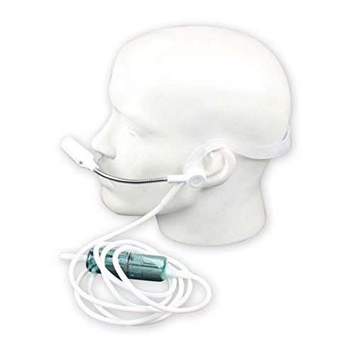 Yuwell Headset Type Oxygen Tube Nasal Suitable for Oxygen Bar Concentrator (6.6 foot Length)